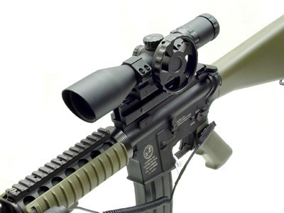 UTG 30mm SWAT 3-12X44 Compact Scope AO Range Estimating Mil-Dot style=