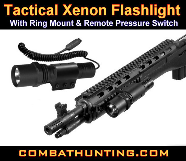 SWAT Force Tactical Flashlight style=