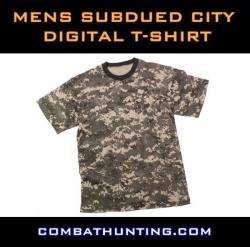 Mens Subdued City Digital T-Shirt