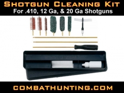 Shotgun Cleaning Kit .410 12 Ga 20Ga