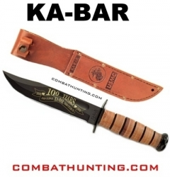 Usmc Ka-Bar Fighting Knife 100Th Anniversary
