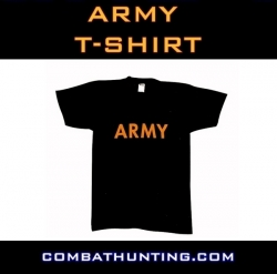 Army T-Shirt Black