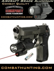 Tactical Compact Laser Flashlight Ambidextrous