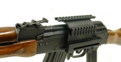 Saiga AK-47 Side Mount with Double Rails