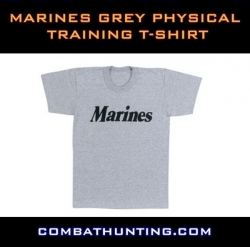 Marines Grey Physical Training T-Shirt