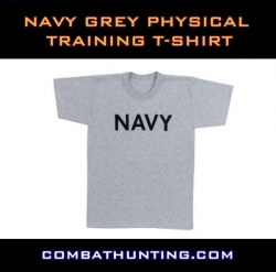 Navy Grey Physical Trainingt-Shirt