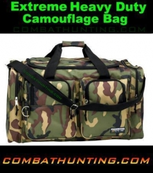 Camouflage Range Bag / Tote Heavy Duty Woodland