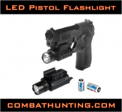 Tactical LED Pistol Flashlight