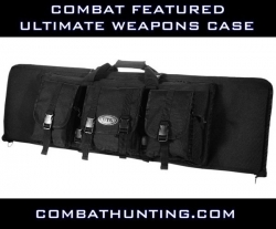 "Ultimate Combat Weapons Case 46"" Black Molle"