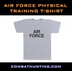 Air Force Grey Physical Training T-Shirt
