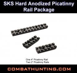 SKS Rifle Aluminum Rail Package