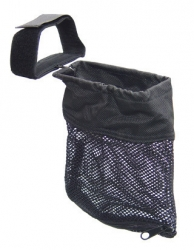 UTG AR-15 Brass Catcher Mesh Bag Trap Zippered Bottom For Quick Unload