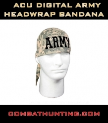 Army Digital Camo Army Headwrap Bandana