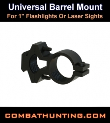 Universal Barrel Mount flashlight Or Laser Sight