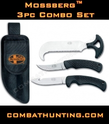 Mossberg 3pc Knife Combo Set