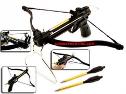 80 Pound Pistol Crossbow  With Arrows / Bolts