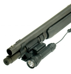 Deluxe Shotgun Tri Rail Barrel Mount 5 Slot