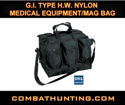 G.I. Type H.W. Nylon Medical Equipment/Mag Bag