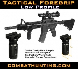 Vertical Foregrip Low Profile Aluminum GSG5