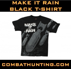 Make It Rain T-Shirt Military