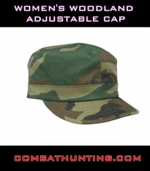 Womens Woodland Adjustable Cap