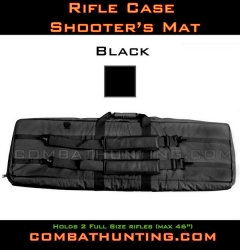 Double Rifle Case Black