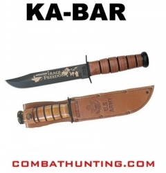 Ka-Bar Iraqi Freedom Army Knife