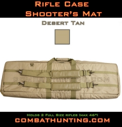 Double Rifle Case Desert Tan