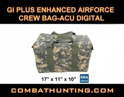 G.I. Air Force Crew Bag Heavy Duty ACU Digital
