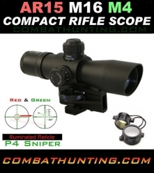 1.25-4x32 P4 Sniper Scope Carry Handle Mount