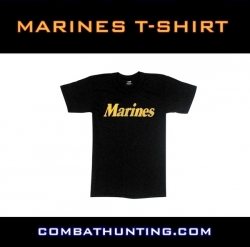 Black Marines T-Shirt