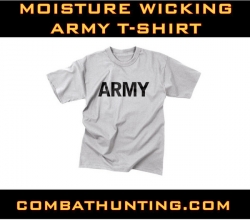 Moisture Wicking Army T-Shirt