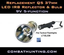 Tactical Flashlight 37mm 5-Function LED IRB Bulb