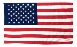"2' Foot x 3"" Foot U.S. Flag Polyester"