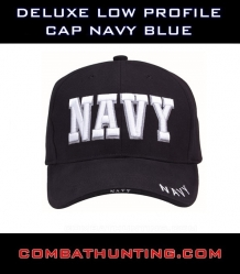 Deluxe Low Profile Cap Navy