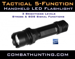 UTG Combat 5 Function LED Flashlight CompactStrobe