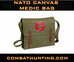 Nato Canvas Medic Bag Olive Drab