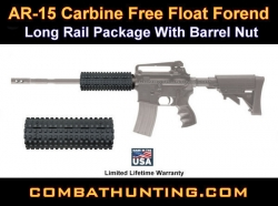 AR-15 Carbine Free Float Forend & Barrel Nut USA