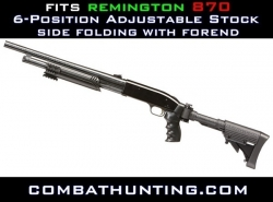 Remington 870 Collapsible Stock & Forend Package