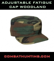 Adjustable Fatigue Cap Woodland