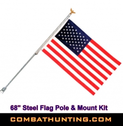 Flagpole Kit For House or Post