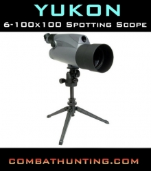 Yukon 6-100X100 Angled Eyepiece Spotting Scope
