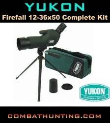 Yukon 12-36 X 50 Spotting Scope Kit Yk11015K