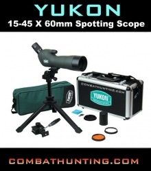 Yukon 15-45 X 60mm Spotting Scope Kit YK11025K