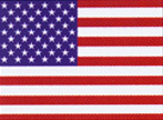 "American Flag Decal - Sticker 5""X8"""