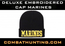 Deluxe Embroidered Watch Cap Marines