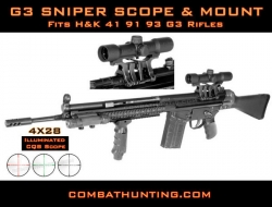 G3 Rifle Sniper Scope and  Mount