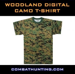 Woodland Digital Camo T-Shirt
