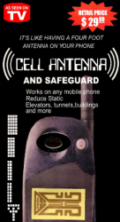 Cell Phone / PDA Antenna Booster With Safe Guard