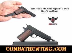 1911 .45 cal RW Minis Replica 1/3 Scale Non-Firing Model